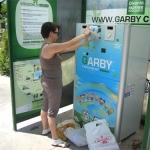 Eco-compattatore Garby: installato uno a Corigliano d'Otranto