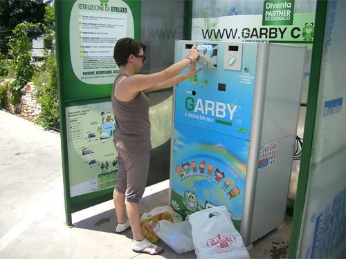 Eco-compattatore Garby