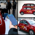 Enjoy, il servizio di car sharing di Eni sbarca a Roma