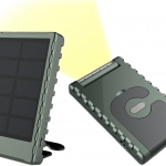 PowerPal 5000, la batteria portatile a energia solare