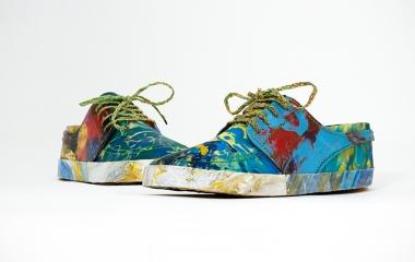 Scarpe riciclate
