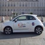 Fiat 500 elettrica per il car sharing di Torino