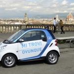 Car2go ottiene l'accesso alla Ztl di Firenze