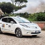 Taxi elettrici: a Roma sono arrivate le prime Nissan