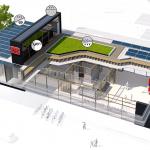 Stazione ferroviaria a zero emissioni: la prima in Germania
