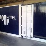 PopUp Hotel, una stanza d'albergo fatta con container riciclati