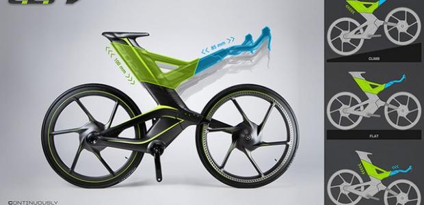 Continously Ergonomic Race Bike
