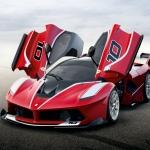 Ferrari FXX K ibrida debutta ad Abu Dhabi