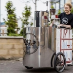 Bici bar per un caffè veloce e sostenibile