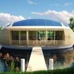 WaterNest 100, la prima casa ecologica galleggiante