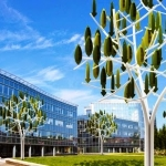 Wind Tree, le mini-turbine eoliche ad albero