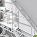 Keret House, la casa ecosostenibile più stretta del mondo