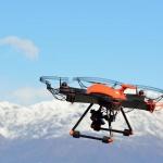 Drone PPL612F per controllare l'efficienza fotovoltaica