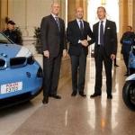 BMW i3 per la Polizia di Stato durante l'EXPO 2015